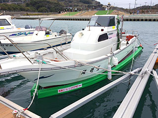 西田様・北九州脇田フィッシャリーナ(ヤンマーZG26)