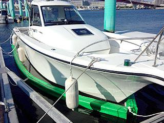 田光様・西宮ボートパーク(ヤマハUF29)