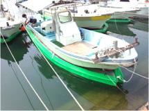 笠岡横島漁港(ヤンマー23ドライブ船)