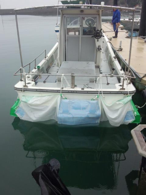 船底シート船尾側